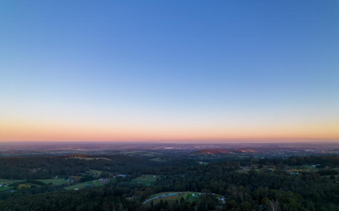 Sunset in Pakenham Upper